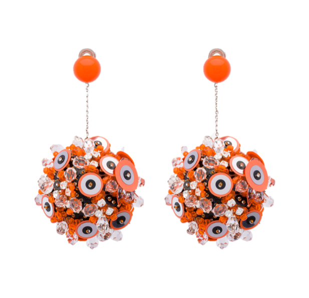 Prada earrings SS2016