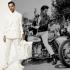 Der Mann und die weiße Hose